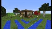 Как се прави - Къщата от Slendercraft Оцеляването - Идея за стартова Къща