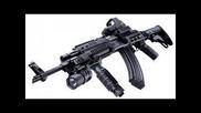Штурмови автомат на Сащ vs Модернизиран руски Ак