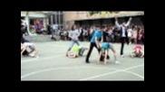 Акробатичен рокендрол (2) - Изпращане - Първа Аег - 11.5.2011