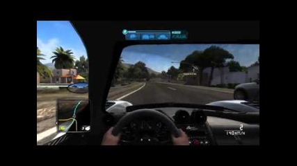Test Drive Unlimited 2: Cruise from yacht to Ibiza airport in Zonda Cinque