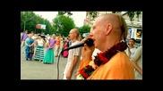 Harinama with H.h.bhakti Caitanya Swami (barnaul 29/06/12)