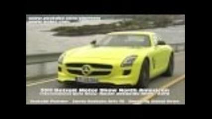 Electric Cars 2011 Detroit Auto Mercedes Sls E Cell