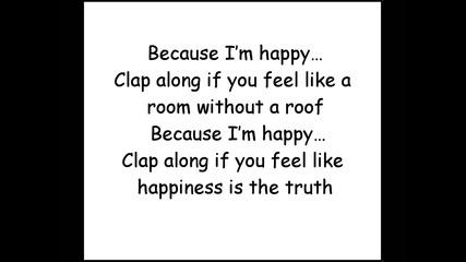 Pharrell Williams - Happy (official lyrics)