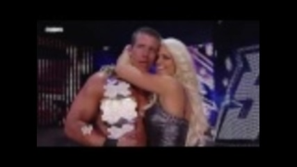 Ted Dibiase and Maryse Kiss