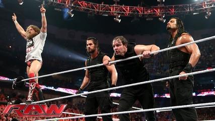 Daniel Bryan vs. Triple H - Wwe World Heavyweight Championship Match: Raw, April 7, 2014
