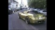 Gold Ferrari 599 Hamann Full Throttle!