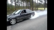 bmw 325 e36 burnout