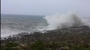 Майорка / Порто Кристо огромни вълни - 25.4.2013 (18:16)