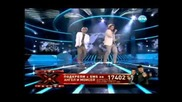 29/11/2011 Импровизация и freestyle Angel i Moisei X factor Bulgaria