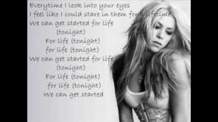 Pitbull feat Shakira - Get It Started Lyrics New Song 2012