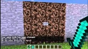 Minecraft Snapshot 12w37a: Superflat + Pumpkin Pie