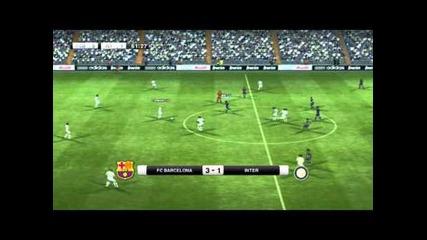 Pes 2012 - Barcelona vs. Inter - Епизод 3