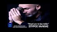 Moro Mou Ta Exo Paiksei - Spiros Xalkias | New Song 2013