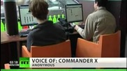Commander X: Anonymous infiltrated by the Fbi