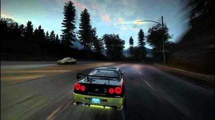 Nfs World - Race with Skyline R34