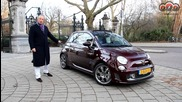Abarth 695 Edizione Maserati with Floris Wyers (mrwheels) - Christmas Special