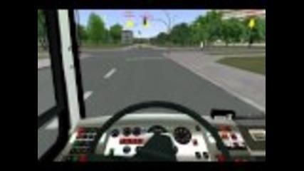 Omsi Bus Simulator - Каране на Икарус 415 по линия 92