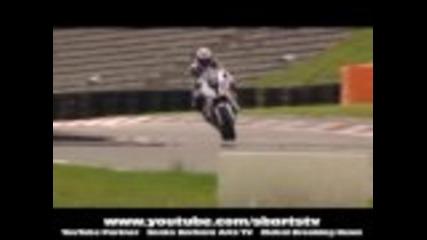 Bmw Formula 1 Vs Bmw S 1000 Rr Motorcycle + Burnout