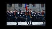 Военният парад на Червения площад в Москва 2014,день Победы