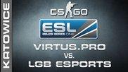 Virtus.pro vs. Lgb esports - Semifinal Map 1 - Ems One Katowice 2014 - Cs:go