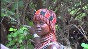 Мурси и етническите групи на Етиопия река Omo -2013