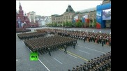 Парад Победы на Красной площади 9 мая 2012