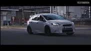 Ken Block tests the 2016 Ford Focus Rs
