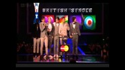 One Direction at the The Brit Awards 2012