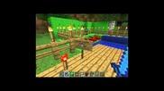 Minecraft град построен от atisas (аз), king377 и stakoz
