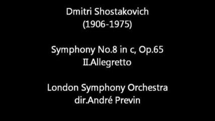 Шостакович симфония 8 оп. 65 2 част