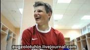 Мнението на Аршавин за играта на гърците (смях)