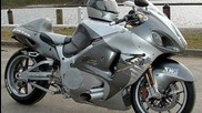 Hayabusa Gsx R 1300 Turbo 400km/h racing