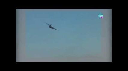 Американски самолети прелетяха над събора в Рожен