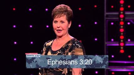 Joyce Meyer-seven Hindrances to Prayer – Pt 2