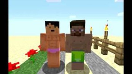 A Minecraft Parody of Lmfao I am Sexy And I Know It (music Video)
