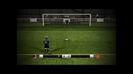 Pes 2012 Ac Milan - Manchester United penalty [hd]