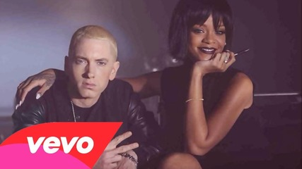 Eminem - The Monster ft. Rihanna ( Lyrics On-screen )
