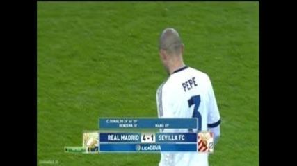 Cristiano Ronaldo vs Sevilla - 4-1 Hat-trick Ronaldo