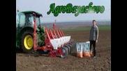 Сеитба на Слънчоглед с John Deere 5080r +кverneland Optima 6 Accord