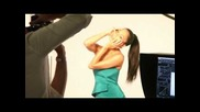 Behind The Scenes with Nicole Scherzinger - impress Press-on Manicure Print Shoot