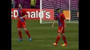 Fifa Uefa Euro 2012 Gameplay Ep.3-epic Fail :(