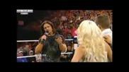 Wwe Raw Maryse & Ted dibiase John Morrison Segment // Raw 7/12/10