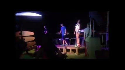 359hiphop Hell Tour - Zvuchi Dobre(kriviq ft Hoodini) [live] Beach Bar Pillow Burgas