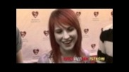 Paramore interview by Rockerrazzi