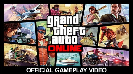 Gta 5 Grand Theft Auto Online: Official Gameplay Video