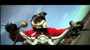 Drifft с Мотор ( Drifting Motorbike Drift Gymkhana Jorian Ponomareff )
