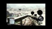 Sniper montage - Battlefield: Bad Company 2- Beta Gameplay (hd)