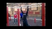 Tuface ladder bar warm-up