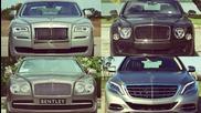 2016 Maybach S600 vs Ghost Ii vs Bentley Flying Spur vs Mulsanne Speed