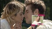 Violetta 3 - Виолета и Леон на снимачната площатка
